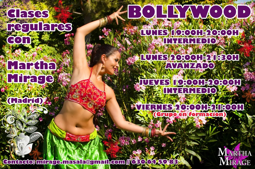 Clases regulares de Bollywood.